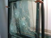Бронированные стёкла.