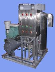 Льдогенератор жидкого льда.