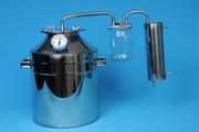 Дистиллятор(самогонный аппарат).