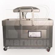 Напольный двухкамерный вакуумный упаковщик DZ-510