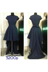 Вечернее платье со шлейфом артикул - Артикул: Ам8011-2